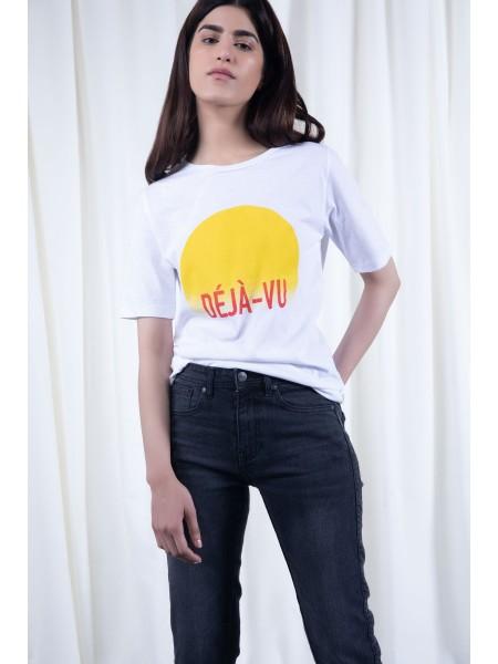 Sapphire Western Wear Deja Vu T-Shirt WESTTOP00370-XSM-999