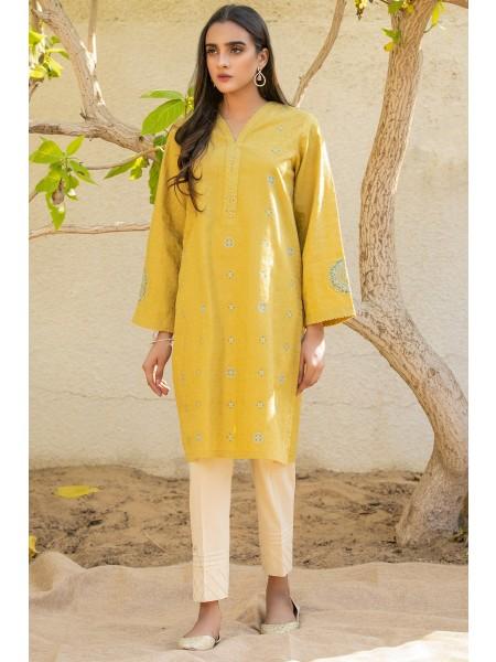 Zeen Woman Ready to Wear WA101006-Mustard