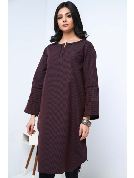 Zeen Woman Ready to Wear WA101048-Deep-Mahogany