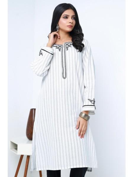 Zeen Woman Ready to Wear WA101052-White-Stripe