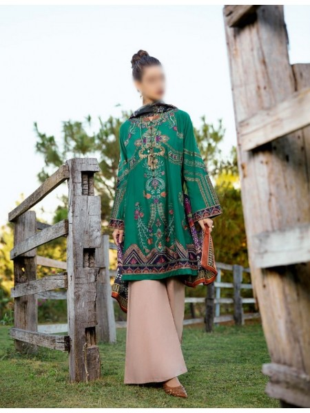IZNIK Luxury Unstiched Lawn Collection D-03 Willow