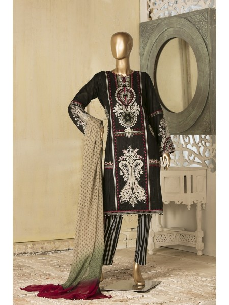 TAWAKKAL FABRIC Amna Sohail Unstiched lawn Fancy Jewel Collection D-8662
