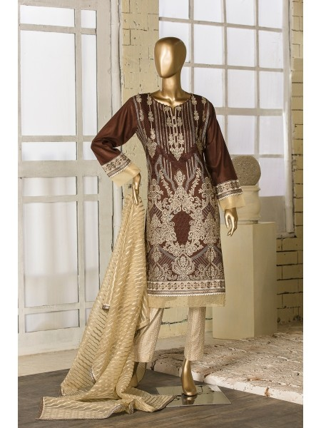 TAWAKKAL FABRIC Amna Sohail Unstiched lawn Fancy Jewel Collection D-8664