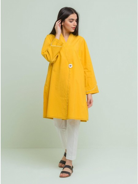 BeehTree Summer Pret Solid Shirt BTS20-HU-304-Yellow