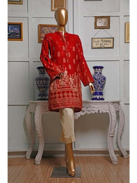 HZ TEXTILE Jacquard Unstitched Kurti Collection D-02