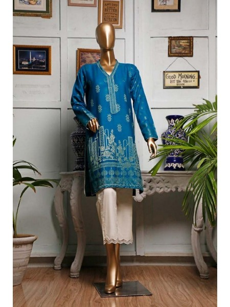 HZ TEXTILE Jacquard Unstitched Kurti Collection D-06