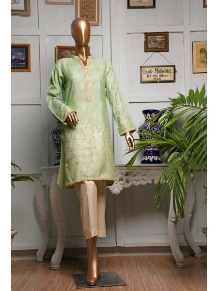 HZ TEXTILE Jacquard Unstitched Kurti Collection D-07