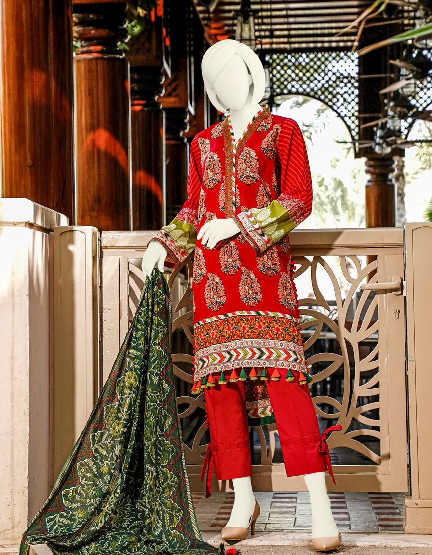 Junaid Jamshed Festive Collection JLAWN-S-20-207 Felix
