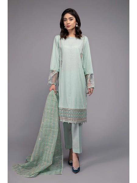 MariaB Eid Collection Suit Aqua DW-EF20-18