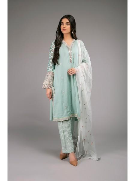 MariaB Eid Collection Suit Aqua DW-EF20-34