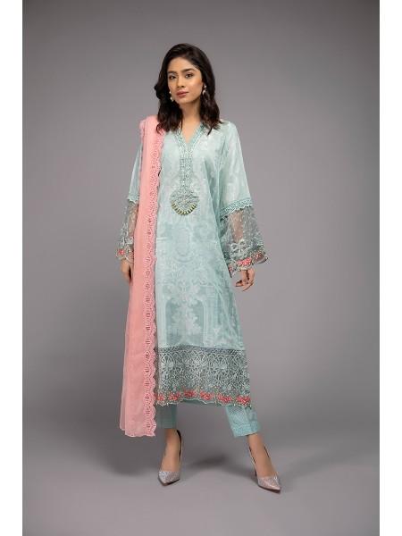 MariaB Eid Collection Suit Aqua DW-EF20-38