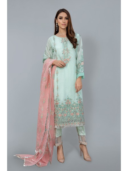 MariaB Eid Collection Suit Aqua SF-EF20-16