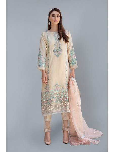 MariaB Eid Collection Suit Beige SF-EF20-16