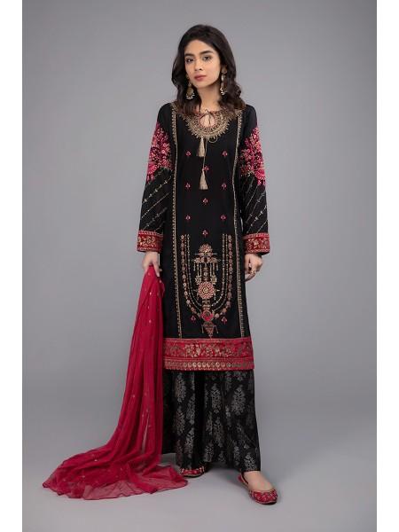 MariaB Eid Collection Suit Black DW-EF20-09