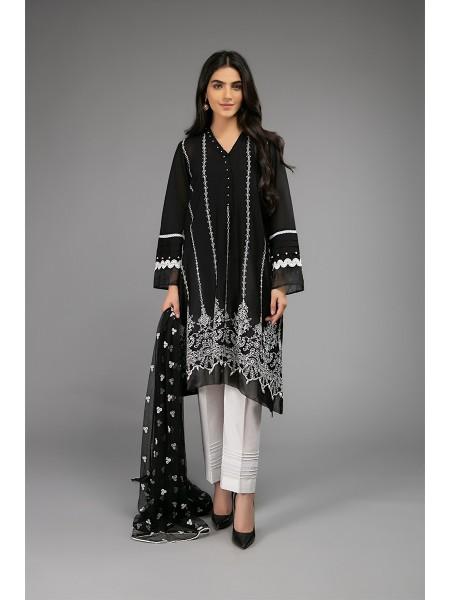 MariaB Eid Collection Suit Black DW-EF20-19