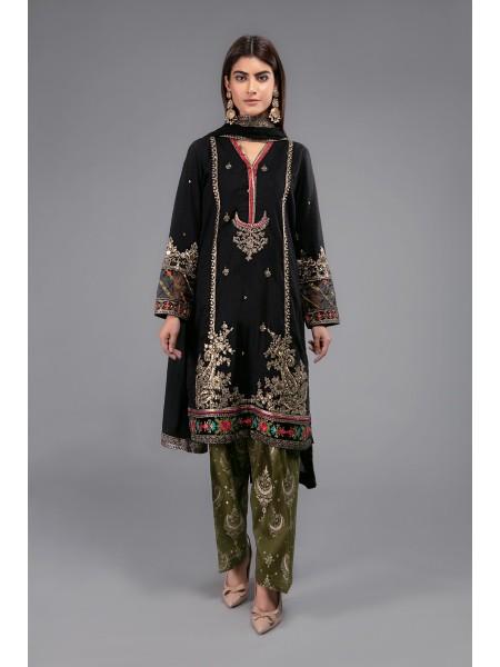MariaB Eid Collection Suit Black DW-EF20-27