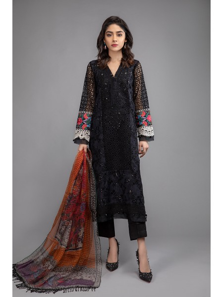 MariaB Eid Collection Suit Black SF-EF20-07
