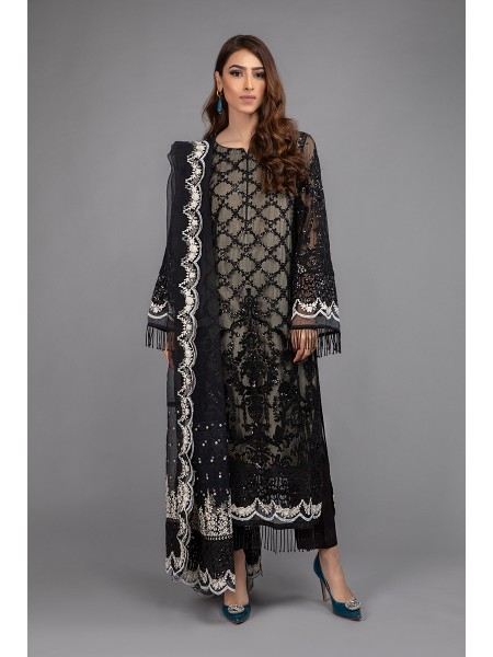 MariaB Eid Collection Suit Black SF-EF20-13