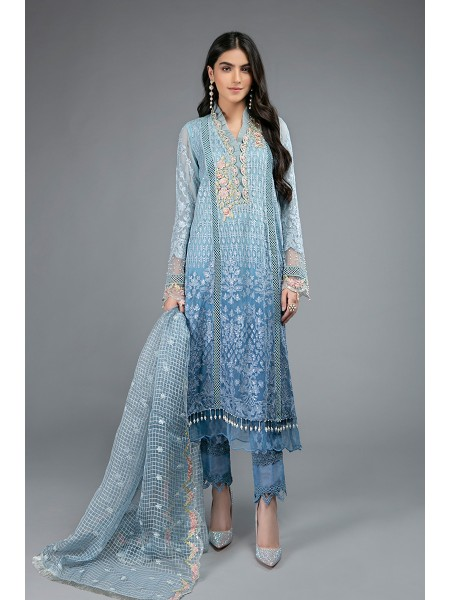 MariaB Eid Collection Suit Blue SF-EF20-01