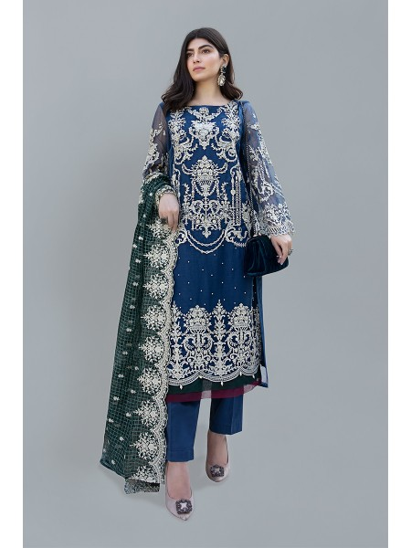 MariaB Eid Collection Suit Blue SF-EF20-12