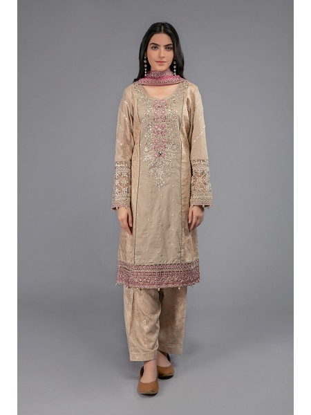 MariaB Eid Collection Suit Coffee DW-EF20-39