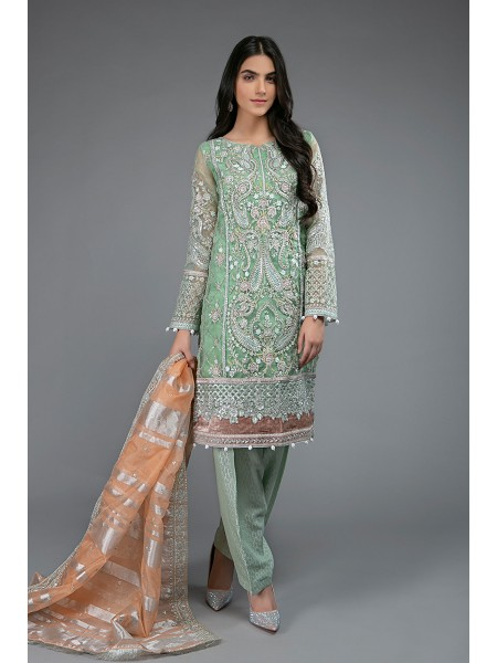 MariaB Eid Collection Suit Green SF-EF20-05