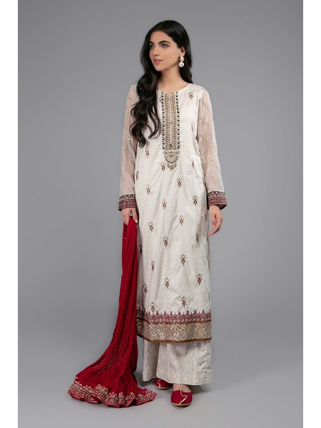 MariaB Eid Collection Suit Off White DW-EF20-04
