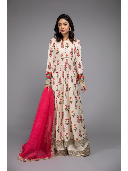MariaB Eid Collection Suit Off White DW-EF20-10