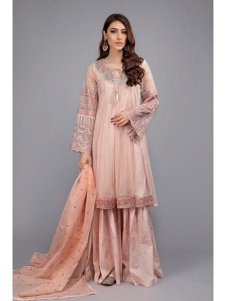 MariaB Eid Collection Suit Peach DW-EF20-16