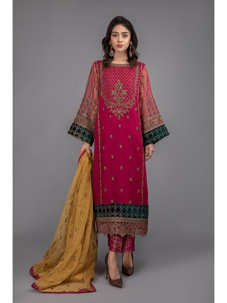 MariaB Eid Collection Suit Pink SF-EF20-15
