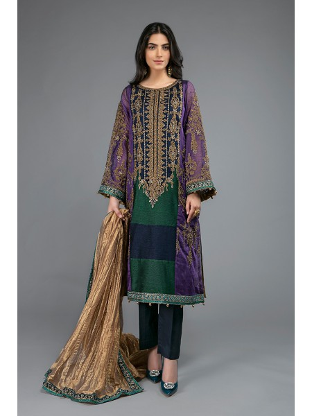 MariaB Eid Collection Suit Purple SF-EF20-08