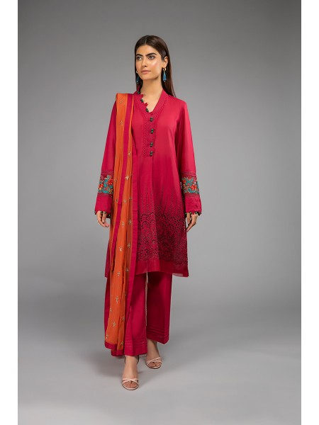 MariaB Eid Collection Suit Red DW-EF20-21