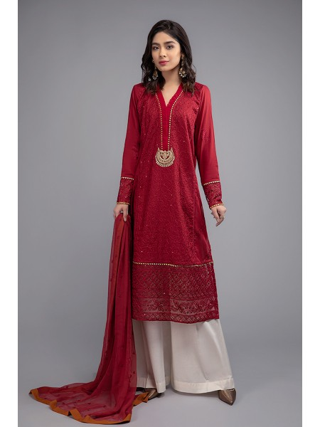 MariaB Eid Collection Suit Red DW-EF20-41