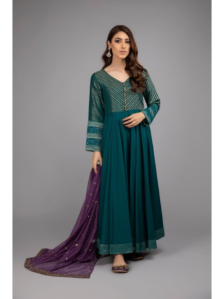 MariaB Eid Collection Suit Teal Green DW-EF20-17