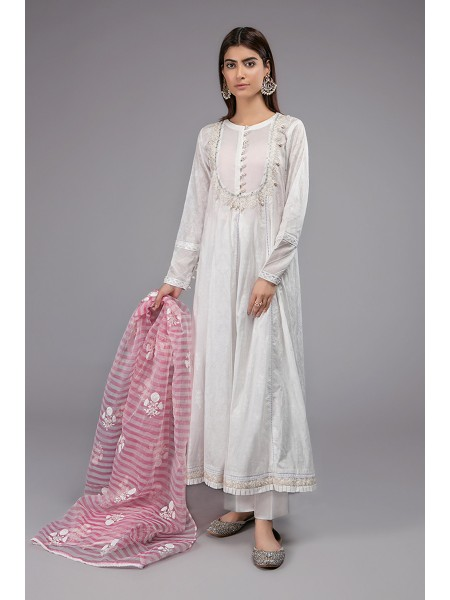 MariaB Eid Collection Suit White DW-EF20-15