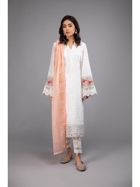 MariaB Eid Collection Suit White DW-EF20-33