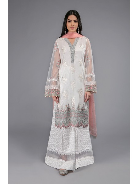 MariaB Eid Collection Suit White DW-EF20-40