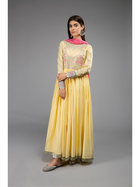 MariaB Eid Collection Suit Yellow DW-EF20-30