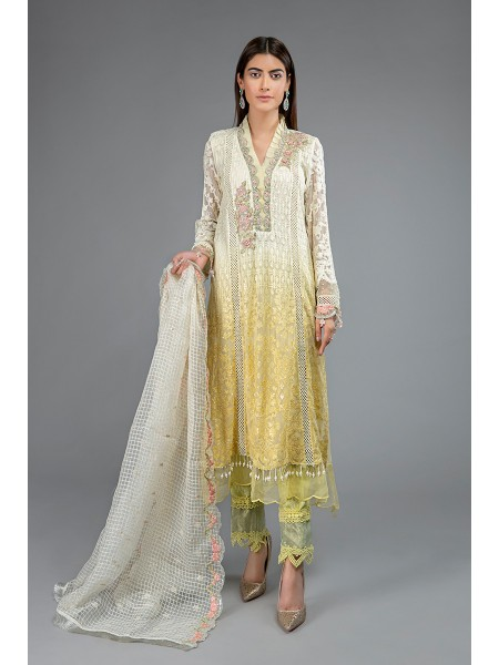 MariaB Eid Collection Suit Yellow SF-EF20-01