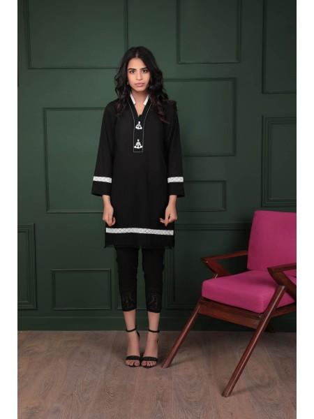 Sapphire Ready To Wear Black Moss 000PBDAY1C07-XSM-999