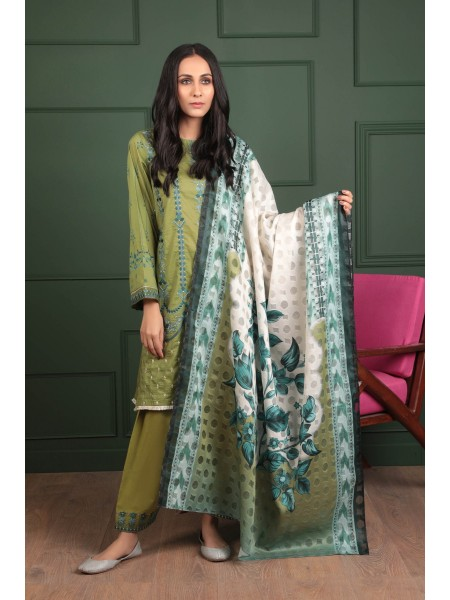 Sapphire Ready To Wear Moss Glint 03PCECLS1B04-XXS-999