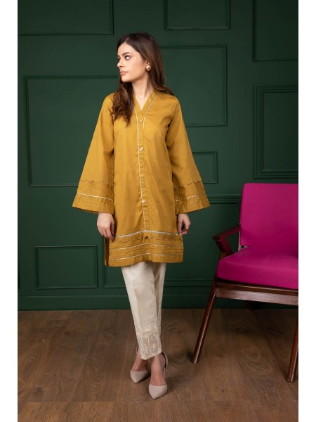 Sapphire Ready To Wear Mustard Light 000PBCLS1C04-XXS-999