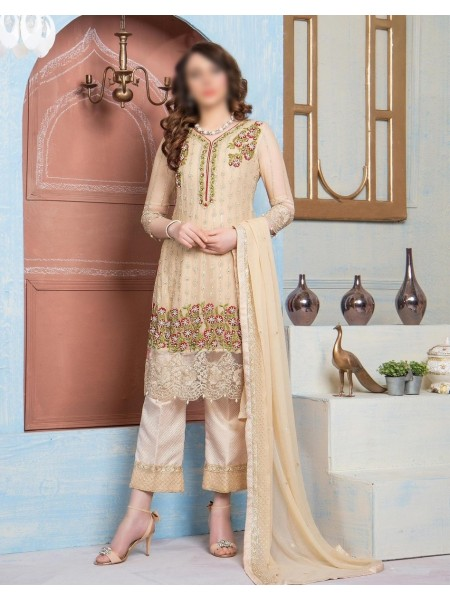 SOGHAT Dhani Premium Handwork Unstiched Embroidered collection D-04