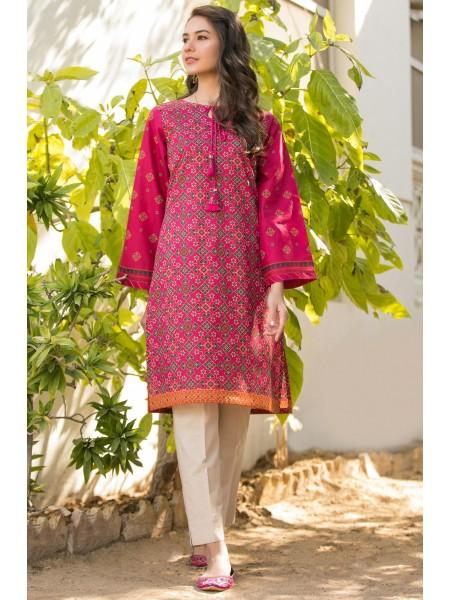 Zeen Woman Festive Edition Stitched 1 Piece Digital Printed Lawn Shirt WLM10120-Wine