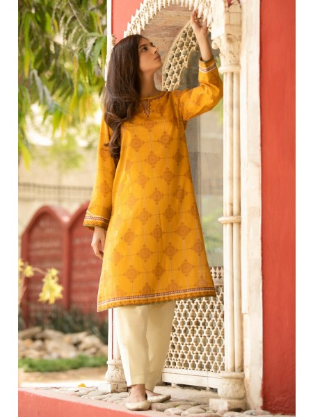 Zeen Woman Festive Edition Unstitched 1 Piece Embroidered Lawn Shirt 652909