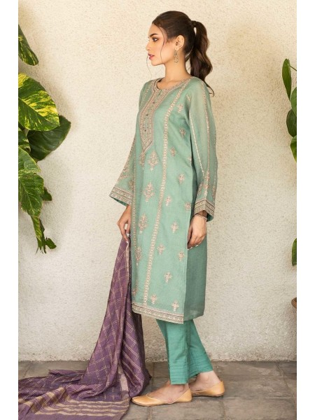 Zeen Woman Festive Edition Unstitched 3 Piece Embroidered Suit 652990