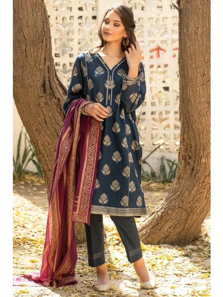 Zeen Woman Festive Edition Unstitched 3 Piece Jacquard Suit 652782