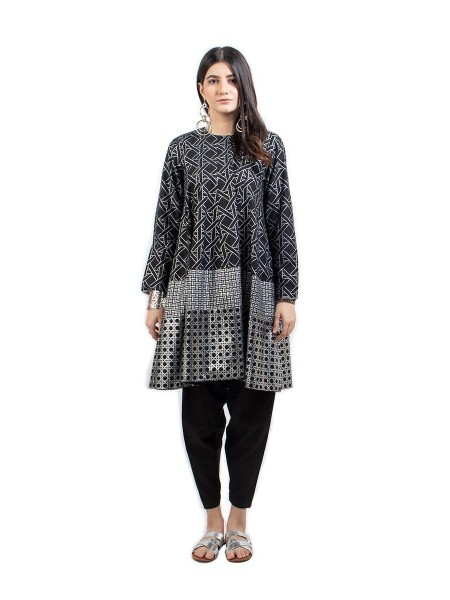 Ego Organic Collection Jhilmil Black 2 Piece E03957-BK0