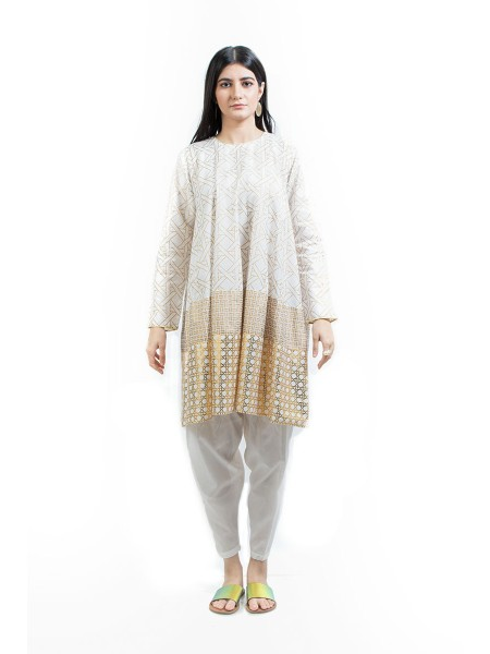 Ego Organic Collection Jhilmil White 2 Piece E03955-OW0