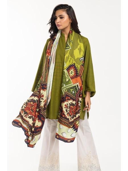 Gul Ahmed Ready To Wear 2 PC Khaddar Outfit IPW-19-121